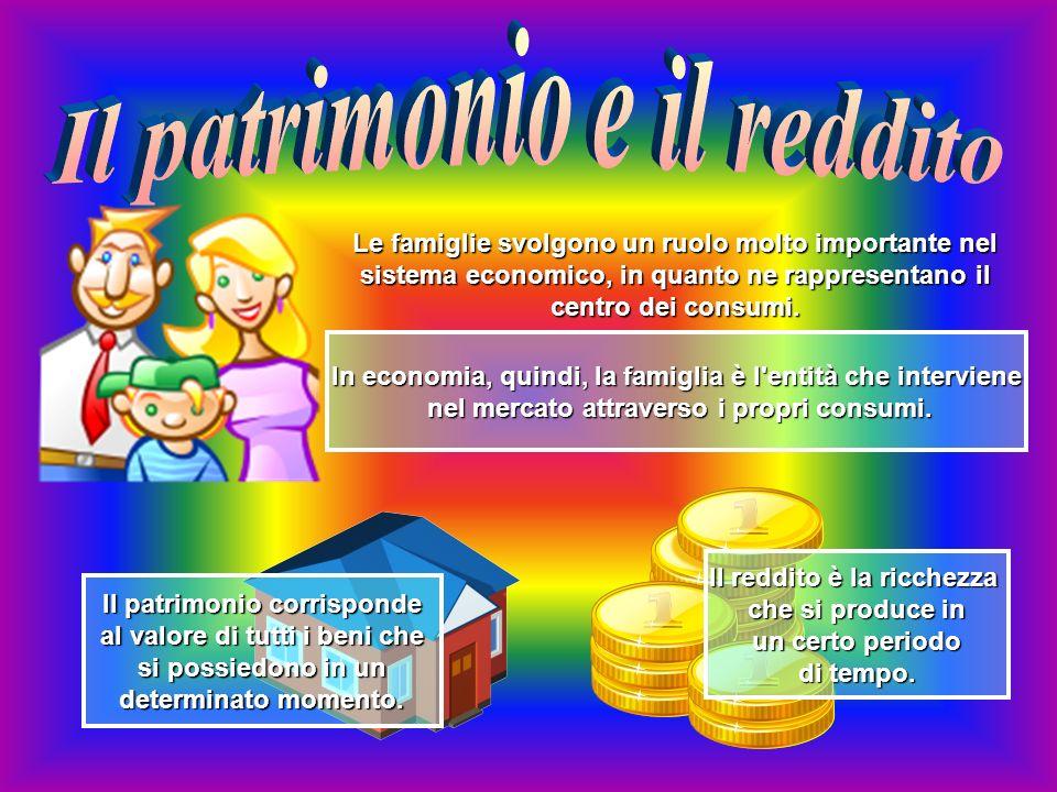 Il patrimonio e il reddito