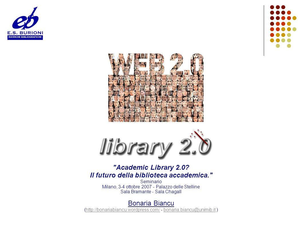 Il futuro della biblioteca accademica.