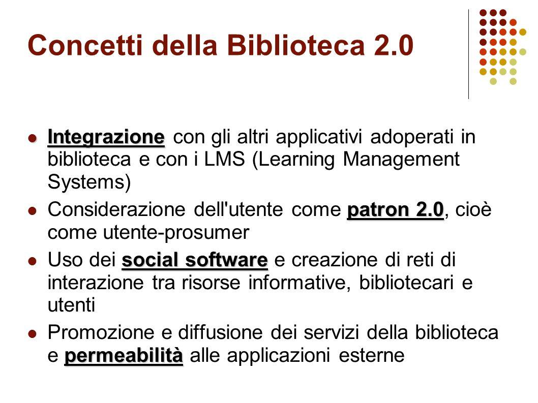 Concetti della Biblioteca 2.0