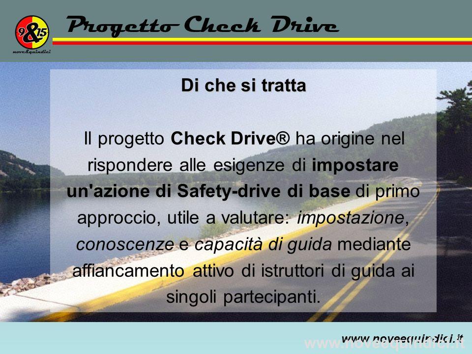 Progetto Check Drive Di che si tratta