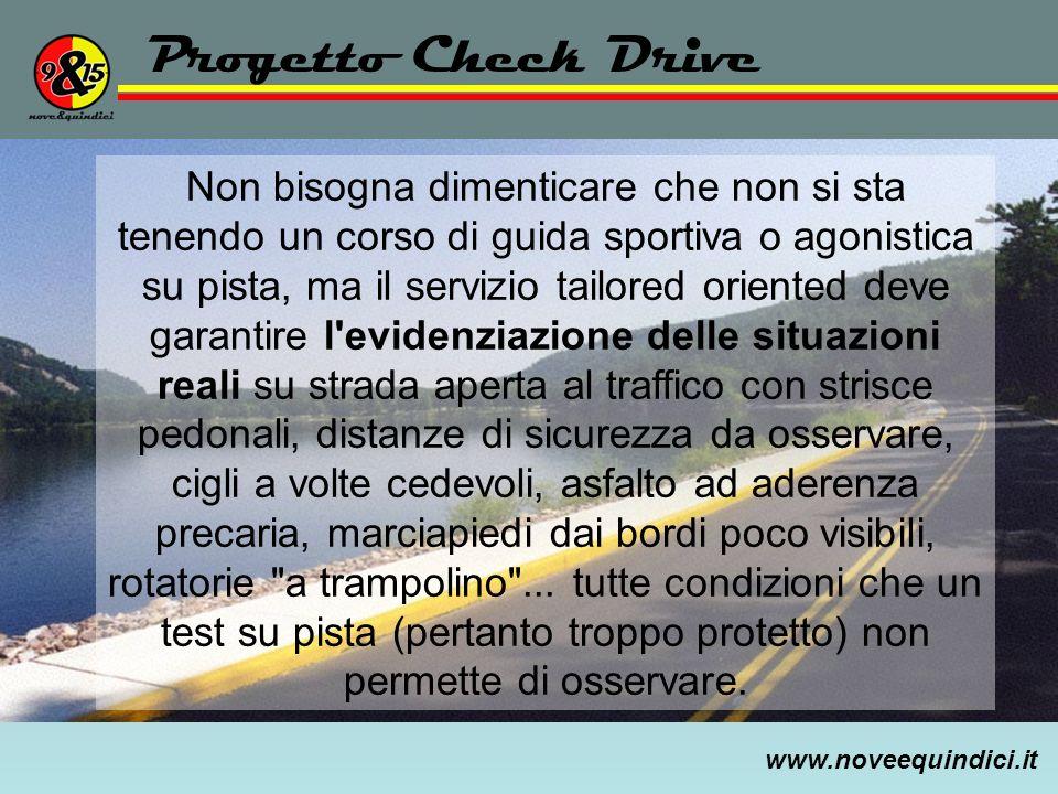 Progetto Check Drive