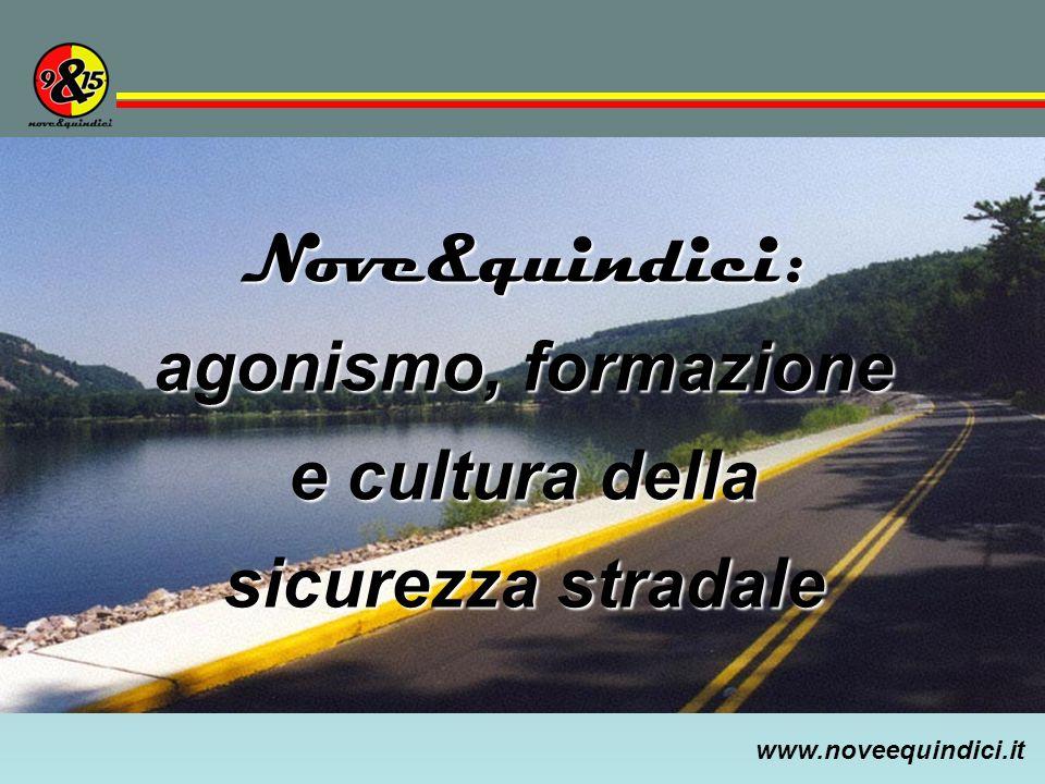 Nove&quindici: agonismo, formazione e cultura della sicurezza stradale