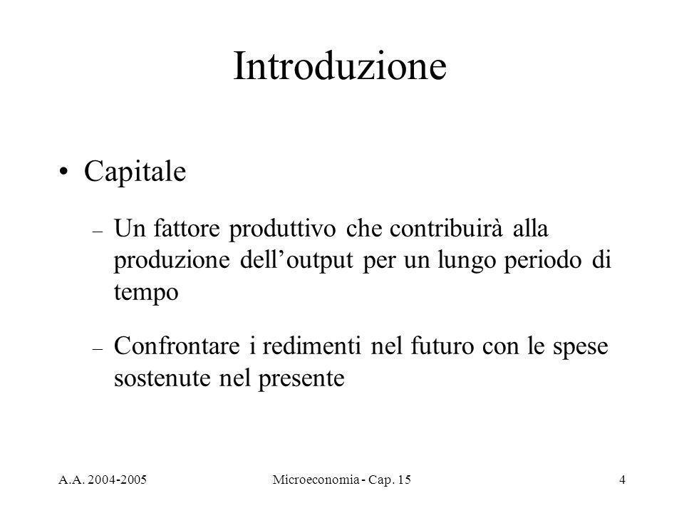 Introduzione Capitale