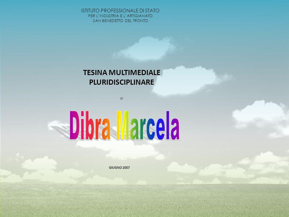 Dibra Marcela TESINA MULTIMEDIALE PLURIDISCIPLINARE