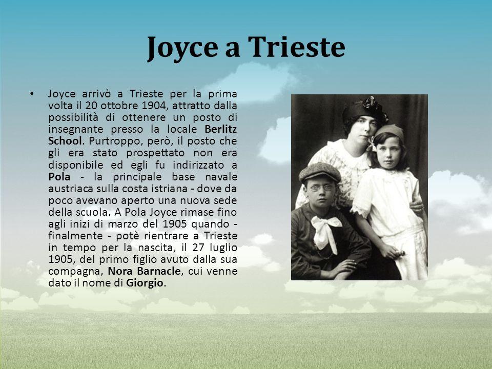 Joyce a Trieste
