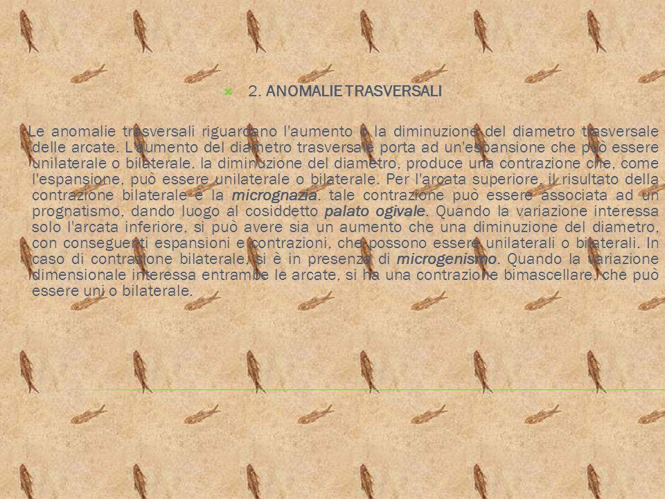2. ANOMALIE TRASVERSALI
