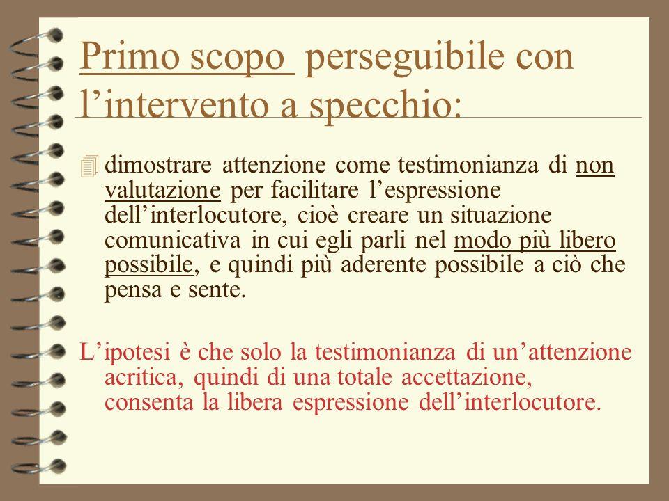 Colloquio non direttivo ppt video online scaricare - Specchio per valutazione posturale ...