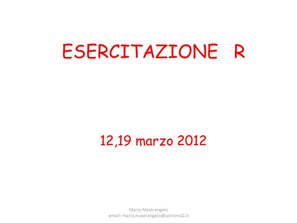 email: mario.mastrangelo@uniroma2.it
