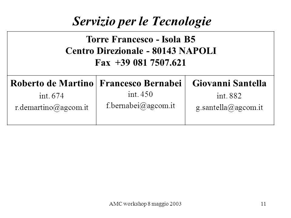 Servizio per le Tecnologie
