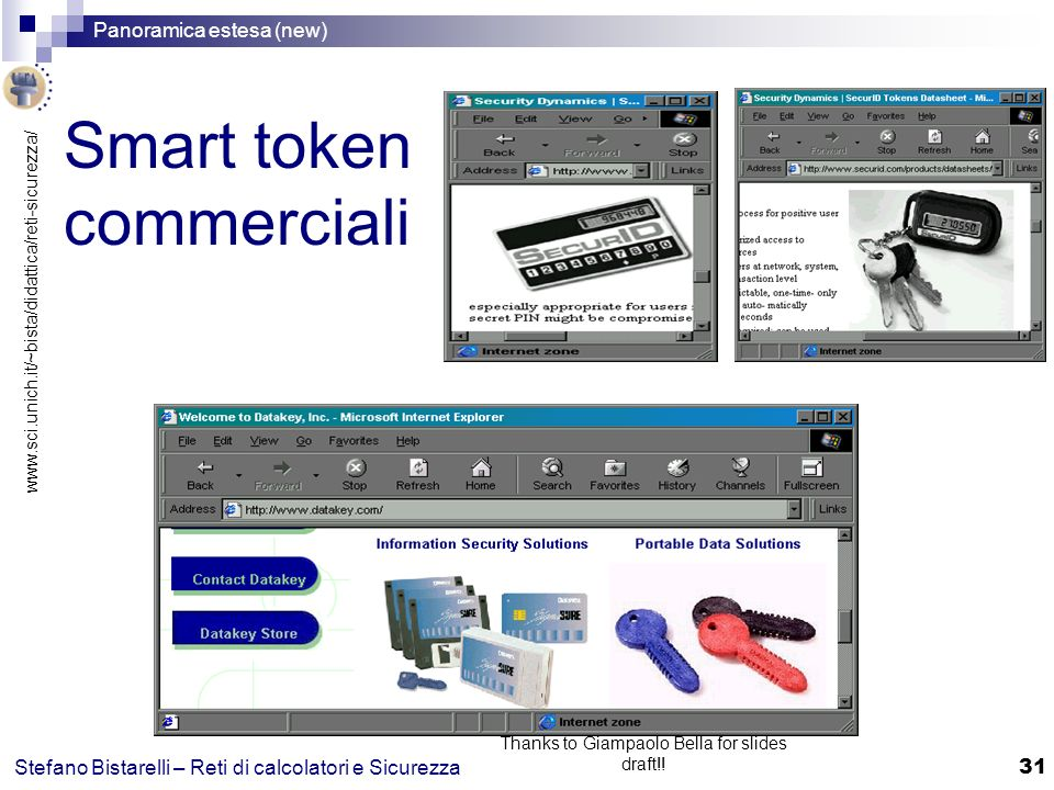 Smart token commerciali
