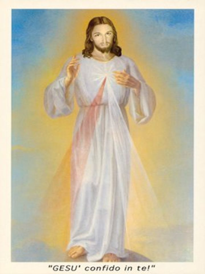 Era conveniente che colei che aveva visto il proprio figlio sulla croce, ricevendo nel corpo il dolore che le era stato rispaiato nel parto, lo contemplasse seduto alla destra del Padre.