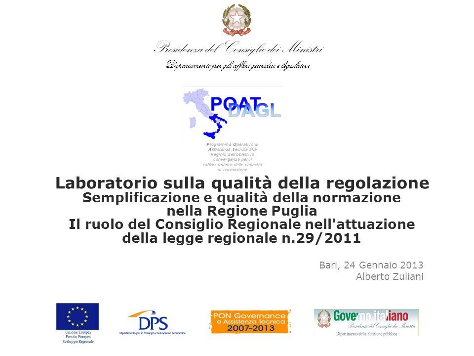 Bari, 24 Gennaio 2013 Alberto Zuliani