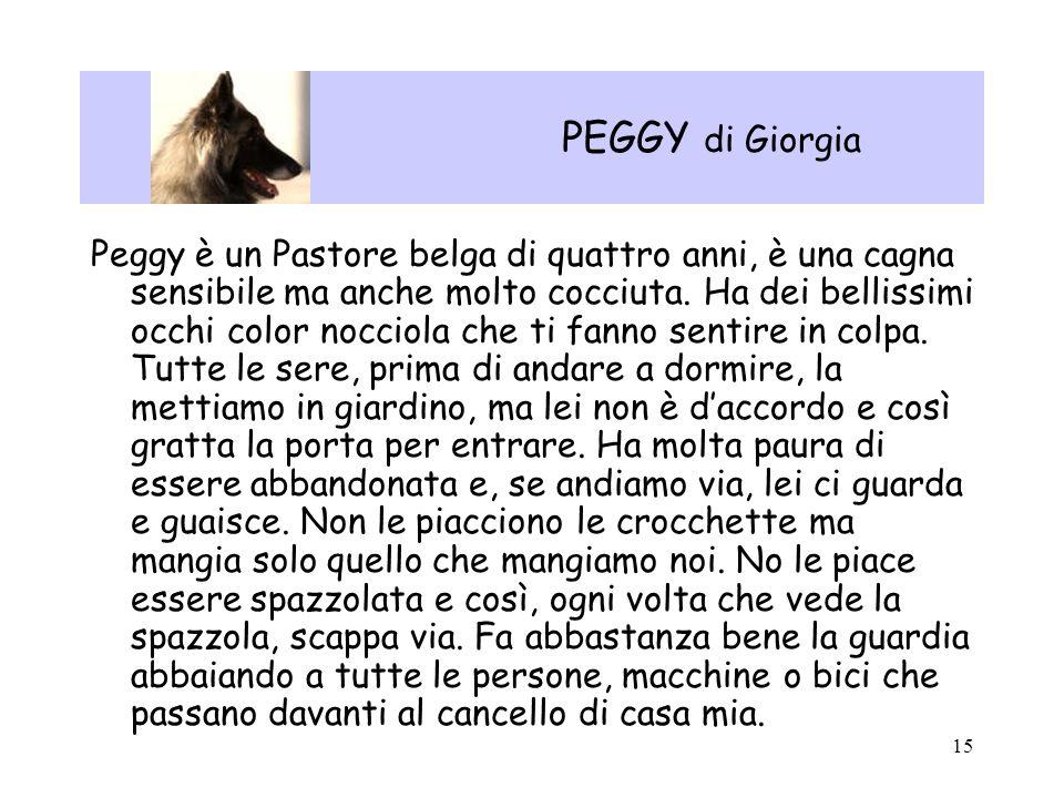 PEGGY di Giorgia