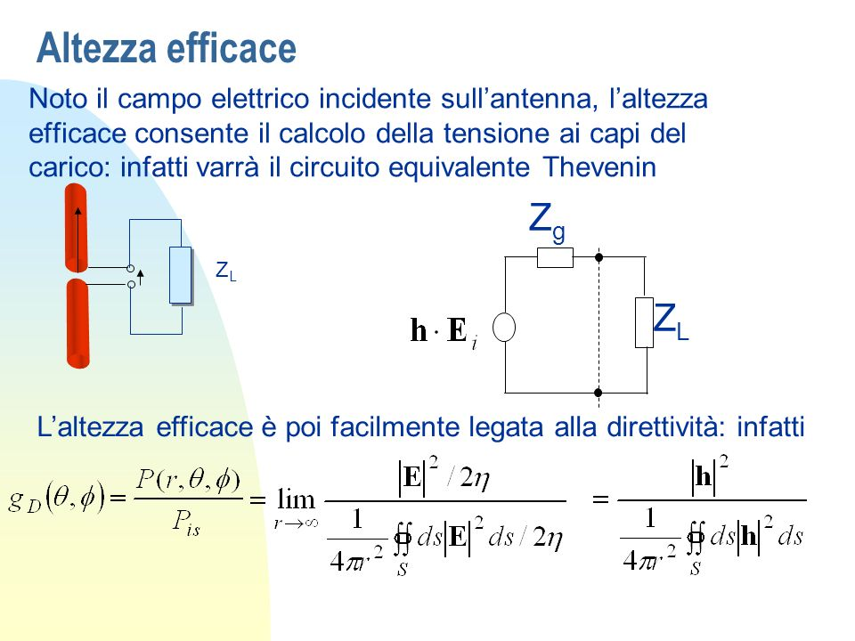 Altezza efficace