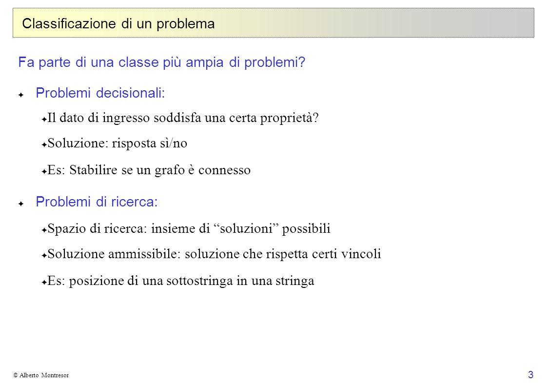 Classificazione di un problema