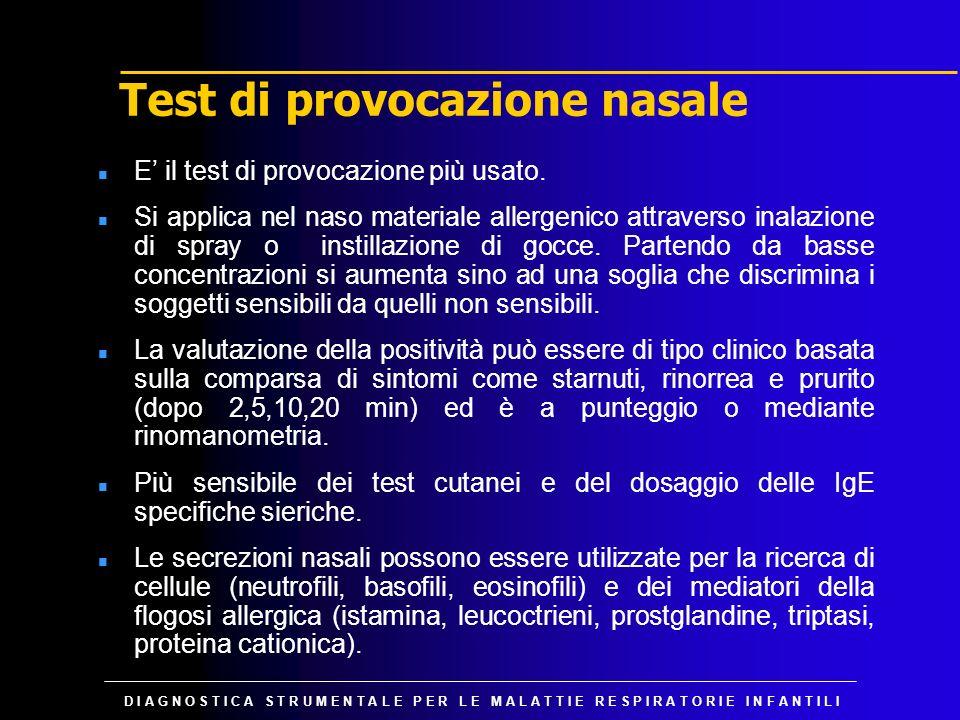 Test di provocazione nasale