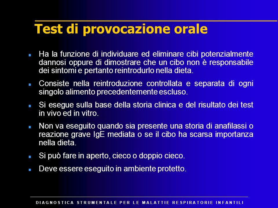 Test di provocazione orale