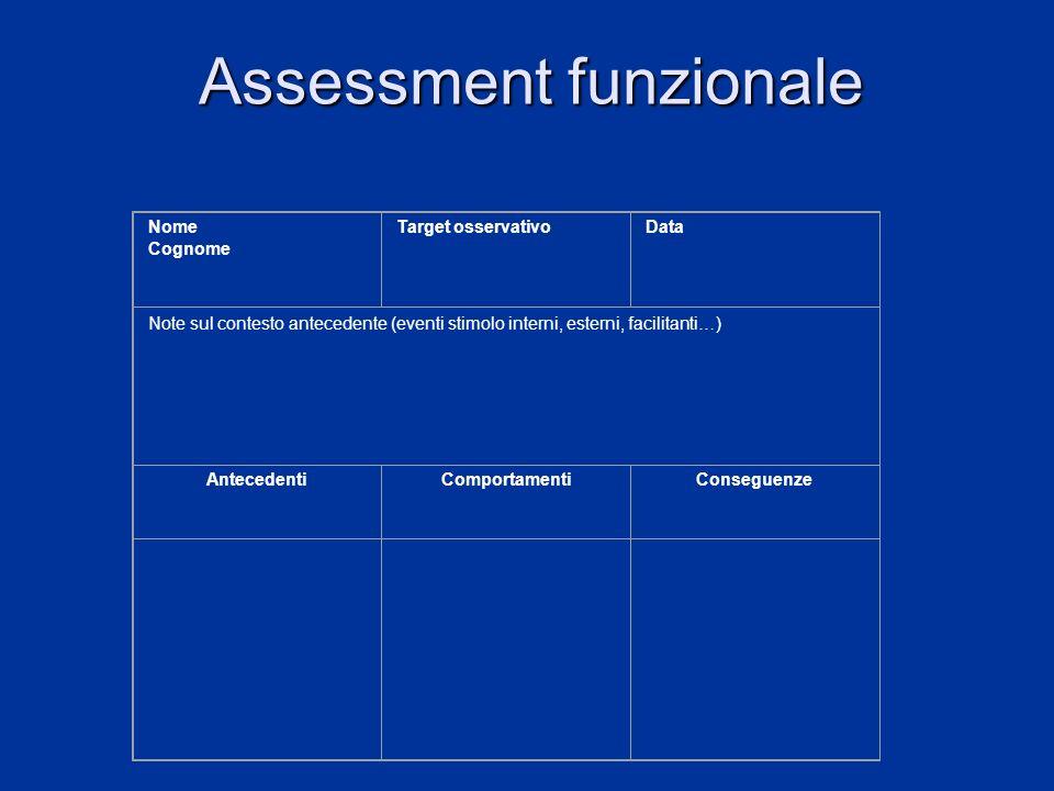 Assessment funzionale