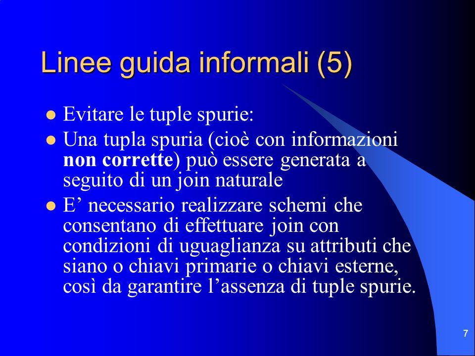 Linee guida informali (5)