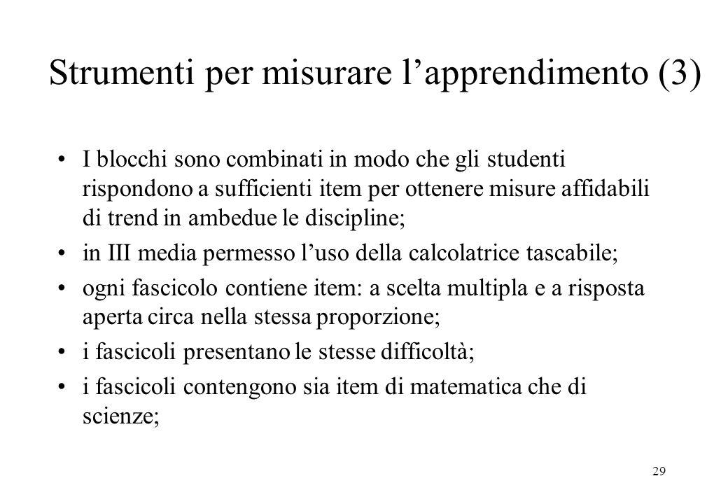 Strumenti per misurare l'apprendimento (3)