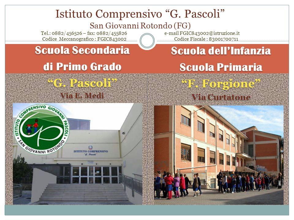 Istituto Comprensivo G. Pascoli San Giovanni Rotondo (FG) Tel