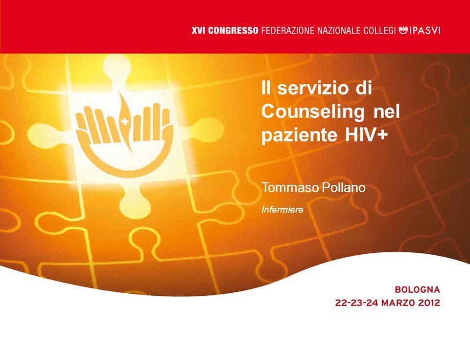 Il servizio di Counseling nel paziente HIV+