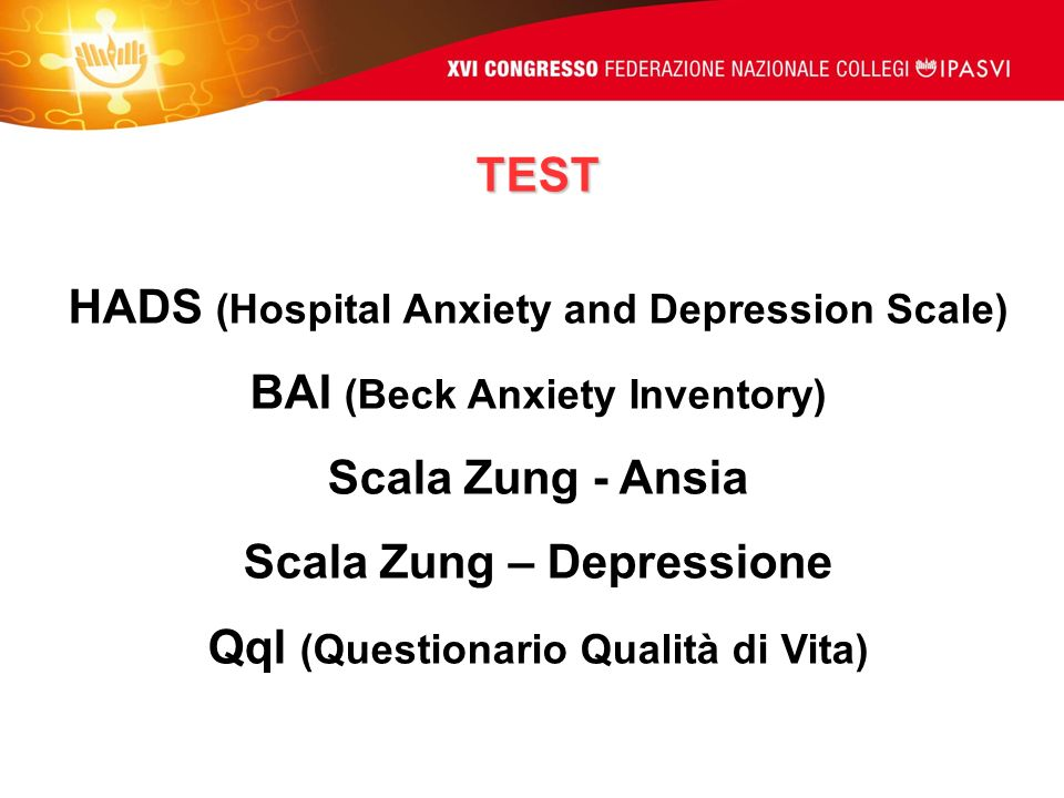 HADS (Hospital Anxiety and Depression Scale)