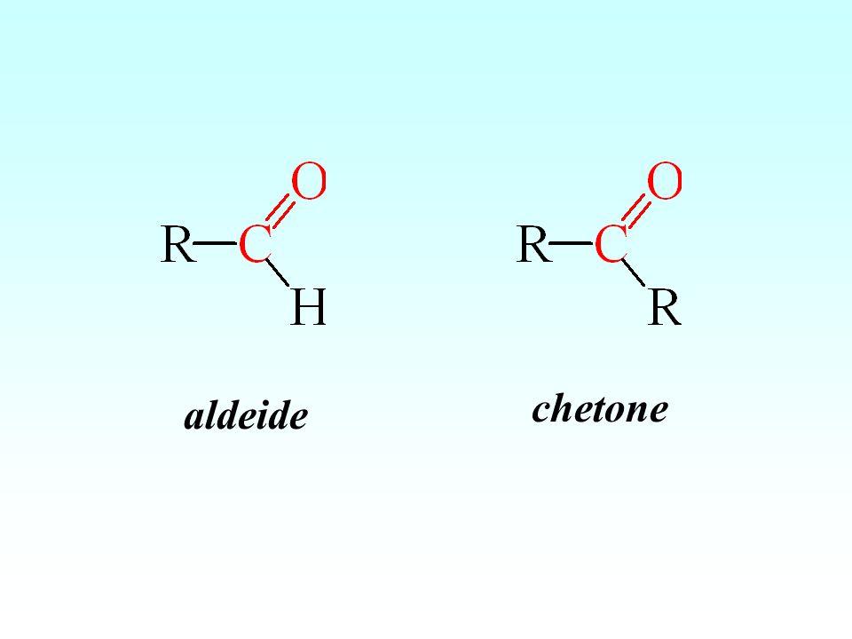 chetone aldeide