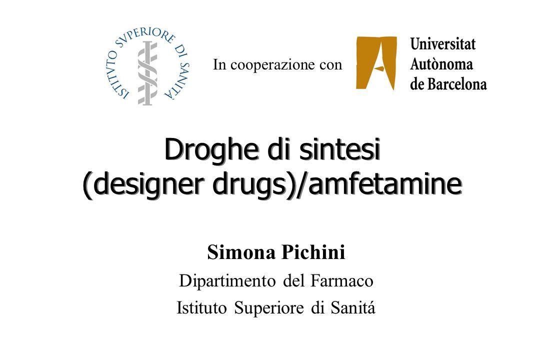 Droghe di sintesi (designer drugs)/amfetamine