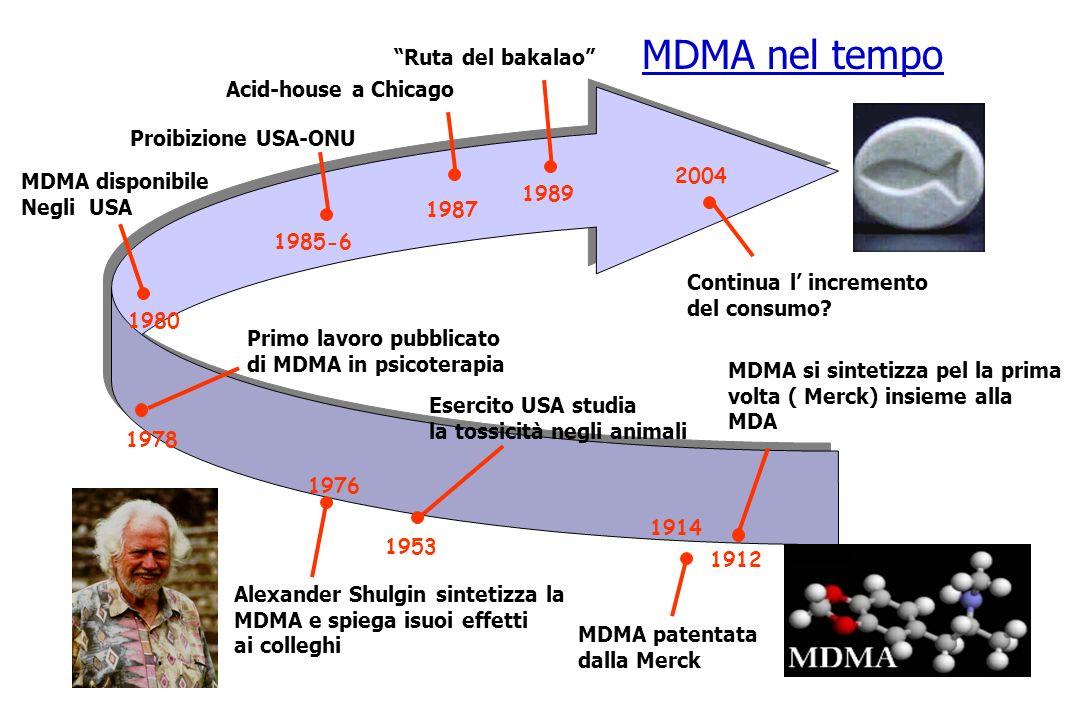 MDMA nel tempo Ruta del bakalao Acid-house a Chicago