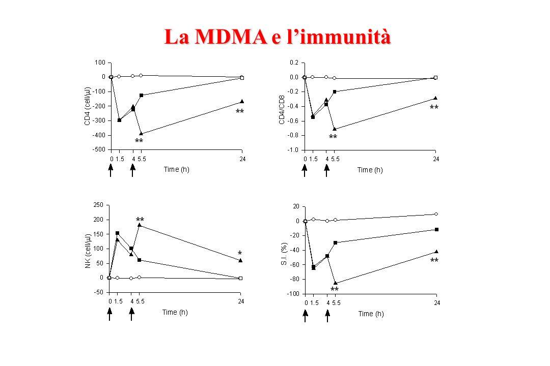 La MDMA e l'immunità
