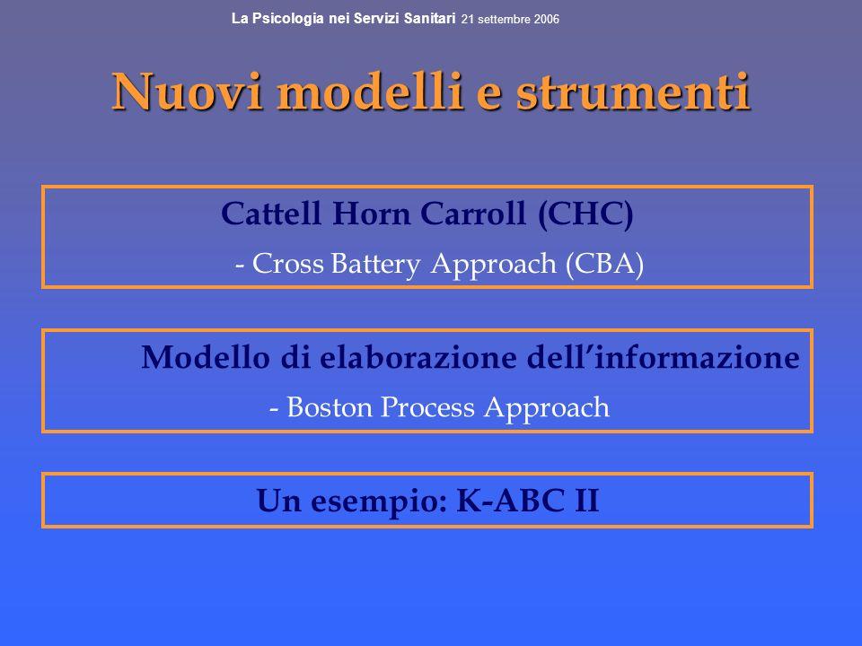Nuovi modelli e strumenti
