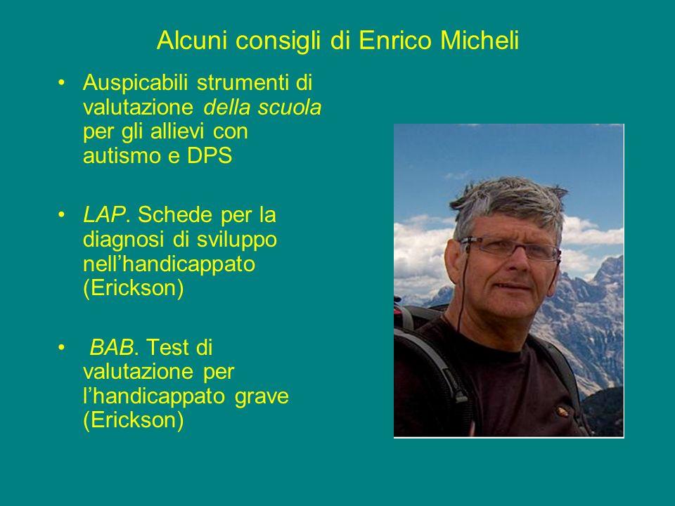 Alcuni consigli di Enrico Micheli