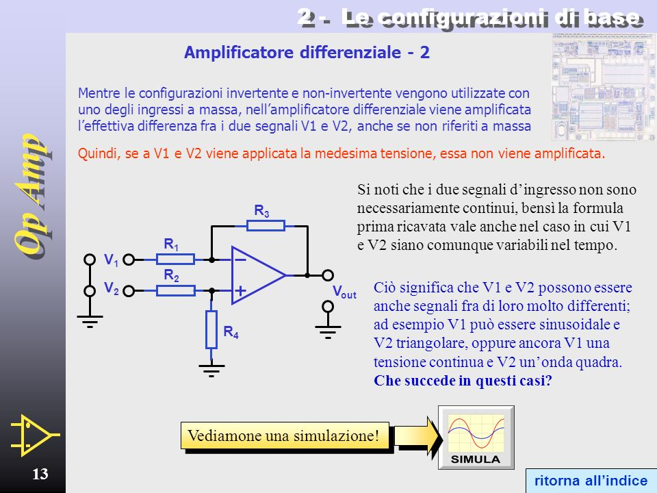 Amplificatore differenziale - 2