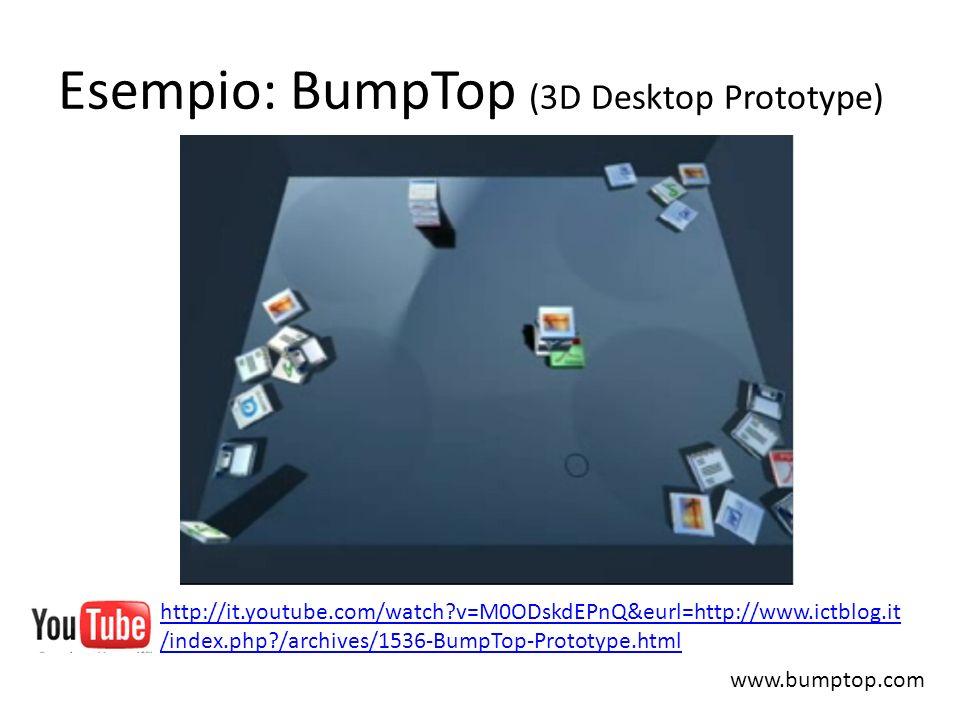 Esempio: BumpTop (3D Desktop Prototype)