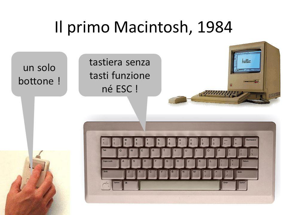 tastiera senza tasti funzione né ESC !