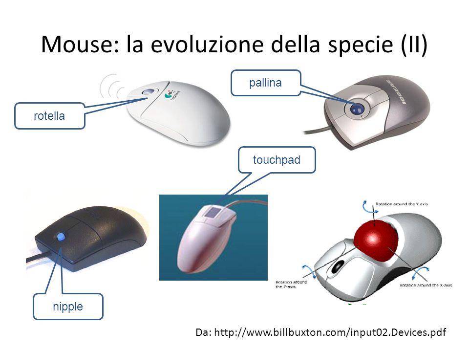 Mouse: la evoluzione della specie (II)