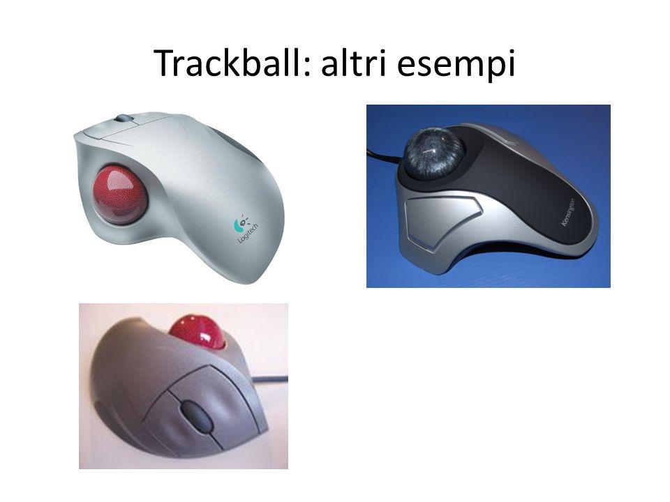 Trackball: altri esempi
