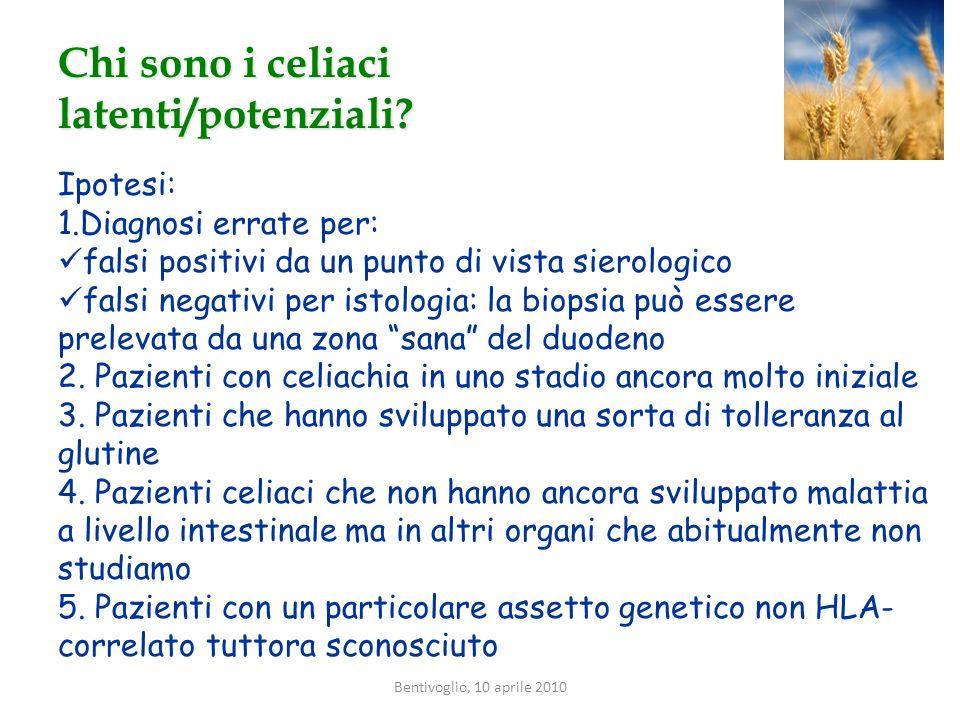Chi sono i celiaci latenti/potenziali