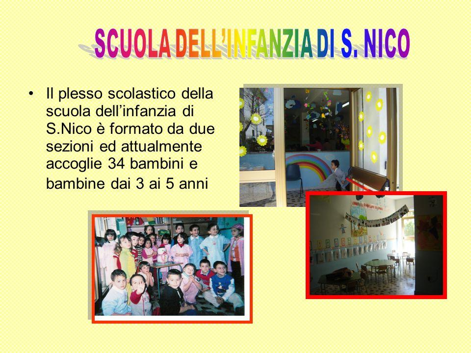 SCUOLA DELL'INFANZIA DI S. NICO