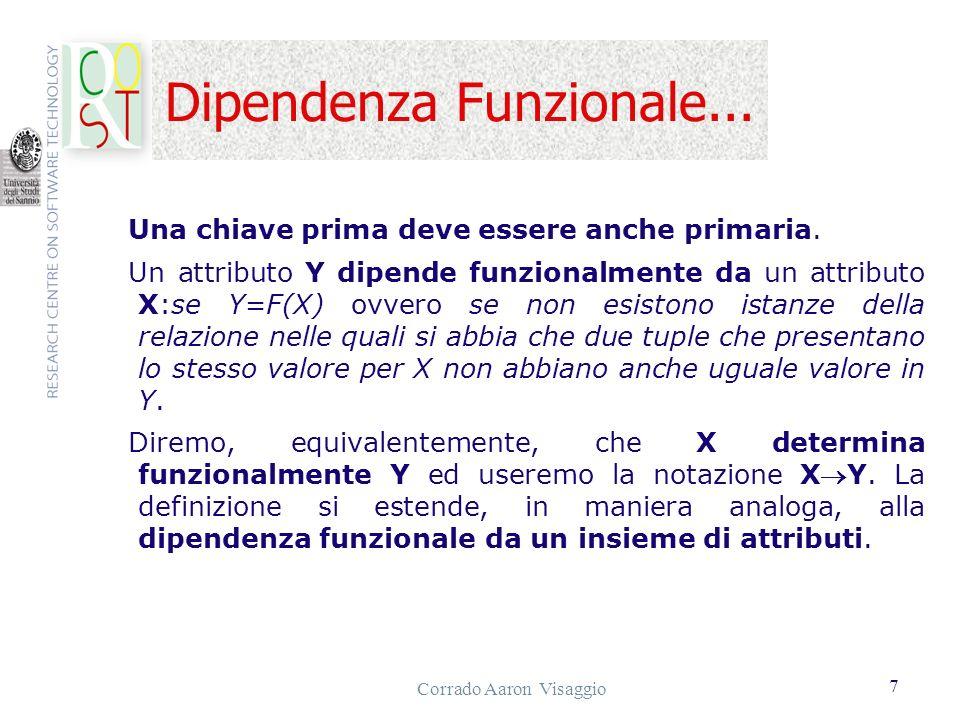 Dipendenza Funzionale...
