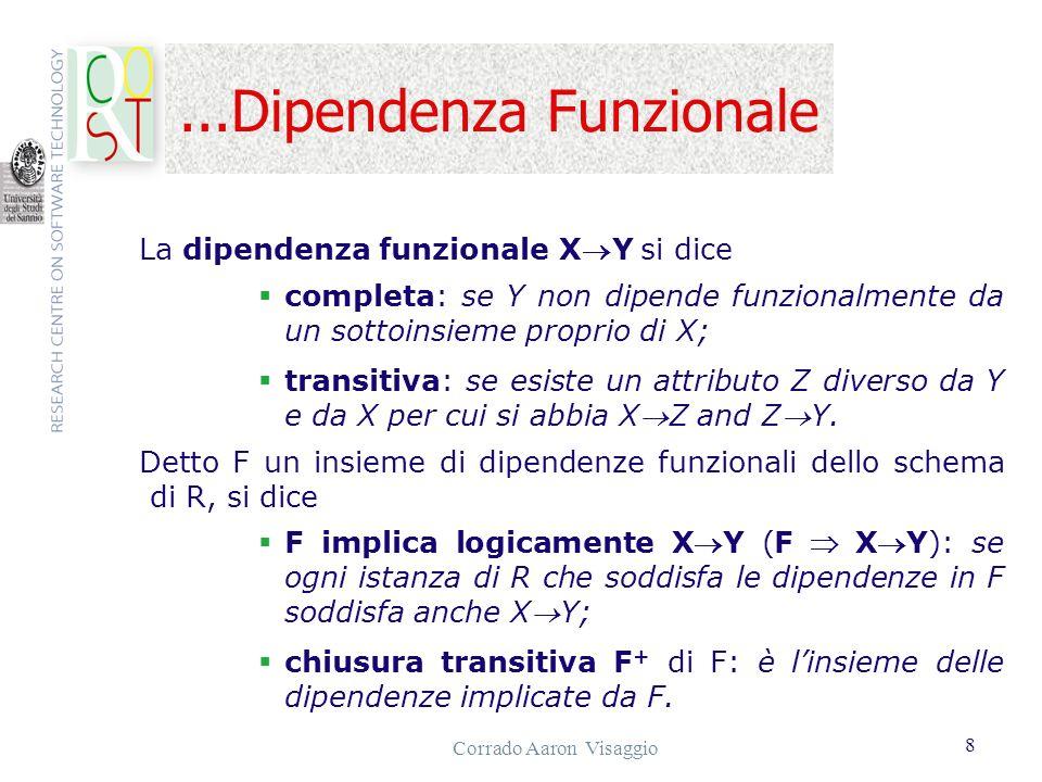 ...Dipendenza Funzionale