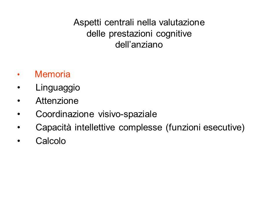 • Coordinazione visivo-spaziale