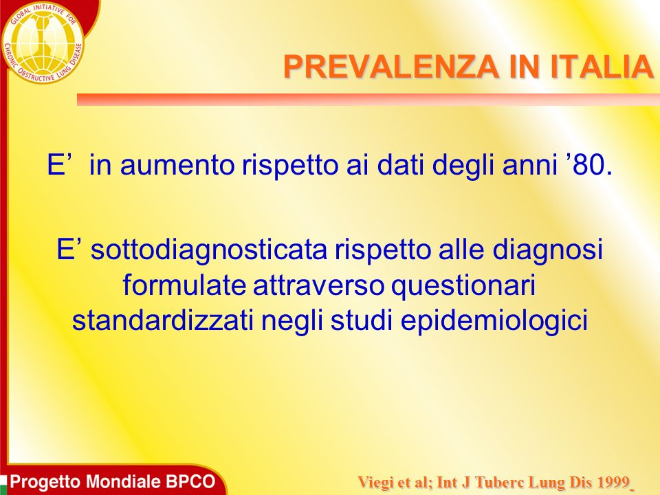 Viegi et al; Int J Tuberc Lung Dis 1999