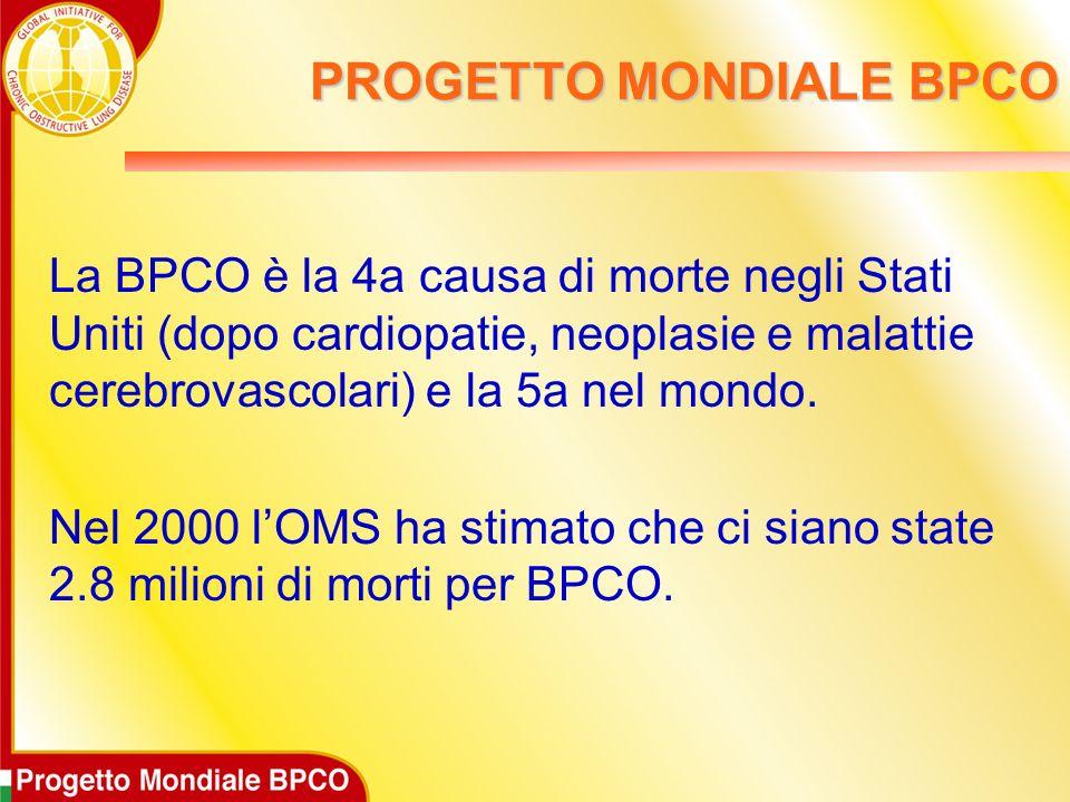PROGETTO MONDIALE BPCO