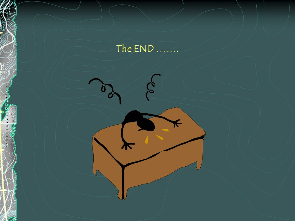 The END …….