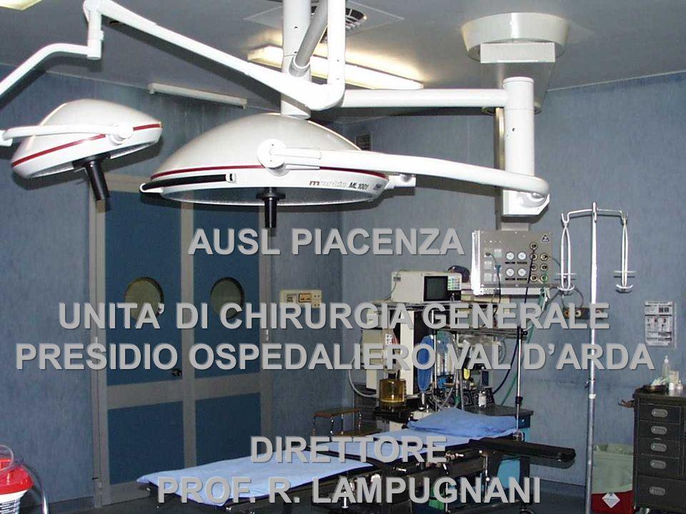 UNITA' DI CHIRURGIA GENERALE PRESIDIO OSPEDALIERO VAL D'ARDA