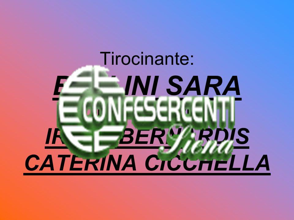 Tirocinante: BELLINI SARA Tutor Scolastico: IRENE BERNARDIS CATERINA CICCHELLA