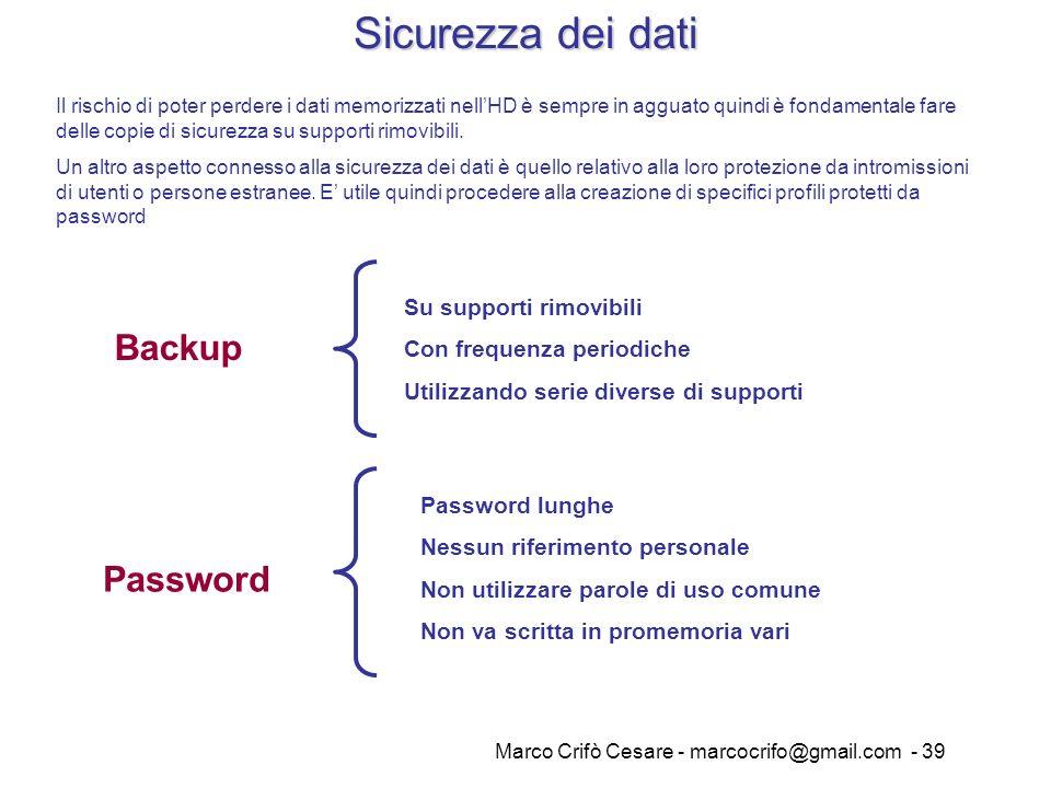 Marco Crifò Cesare - marcocrifo@gmail.com - 39