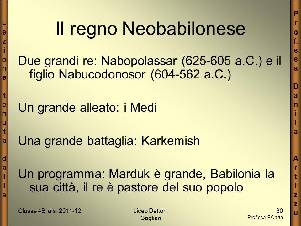 Il regno Neobabilonese